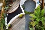 Wedo thiết kế tiểu cảnh sân vườn đẹp duyên dáng và sang trọng