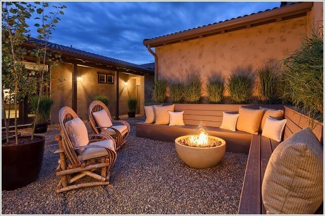 Wedo thiết kế tiểu cảnh sân vườn đẹp và độc đáo với chỗ ngồi sum họp ấm cúng
