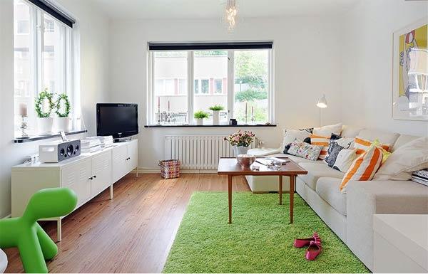 Wedo tư vấn thiết kế nội thất phòng khách khéo léo cho nhà siêu nhỏ