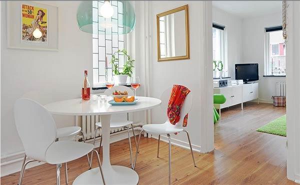 Wedo tư vấn thiết kế nội thất phòng ăn khéo léo cho nhà siêu nhỏ