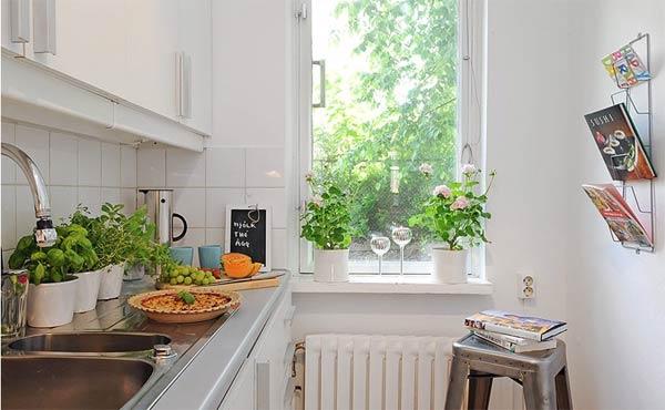 Wedo tư vấn thiết kế nội thất nhà bếp khéo léo cho nhà siêu nhỏ
