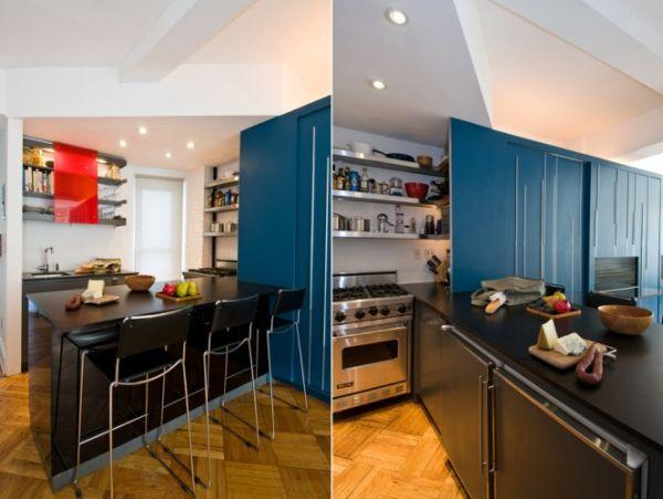 Wedo tư vấn thiết kế nội thất khéo léo cho nhà bếp và phòng ăn căn hộ siêu nhỏ