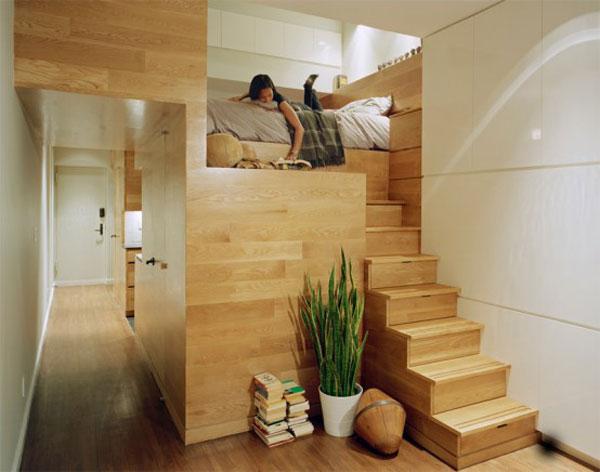 Wedo tư vấn thiết kế nội thất khéo léo cho nhà siêu nhỏ với gỗ tự nhiên