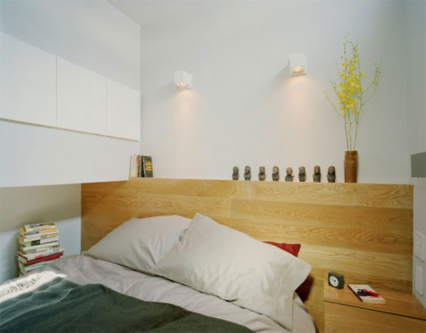 Wedo tư vấn thiết kế nội thất khéo léo cho phòng ngủ nhà siêu nhỏ