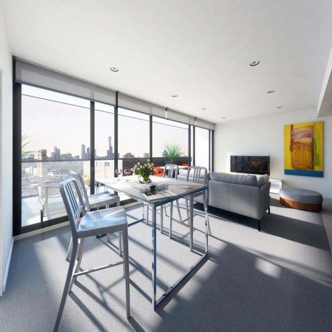 Wedo thiết kế nội thất sang trọng cho căn hộ cao cấp