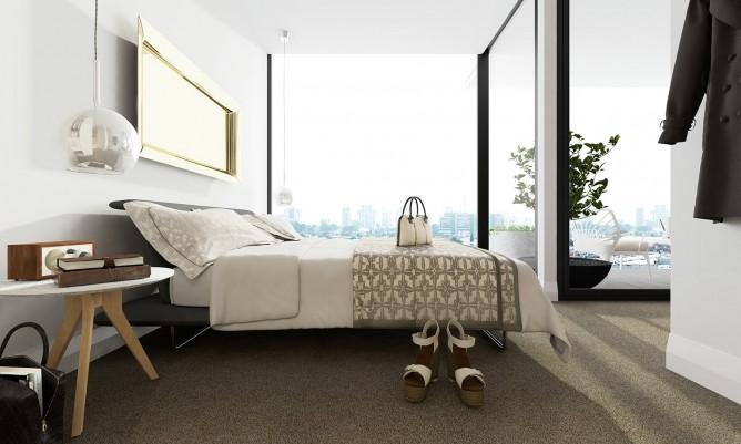 Wedo thiết kế nội thất sang trọng cho phòng ngủ căn hộ cao cấp