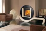 Wedo thiết kế nội thất nhà đẹp và ấm áp với lò sưởi hiện đại