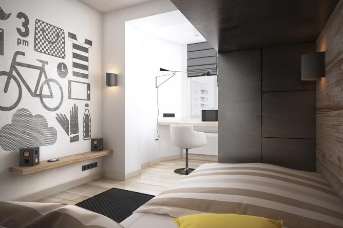 Wedo thiết kế nội thất nhà đẹp đơn giản, tươi sáng và vui vẻ
