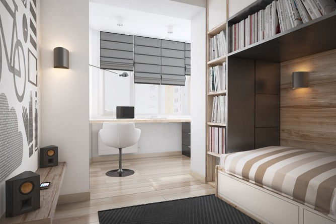 Wedo thiết kế nội thất phòng làm việc đơn giản, tươi sáng và vui vẻ