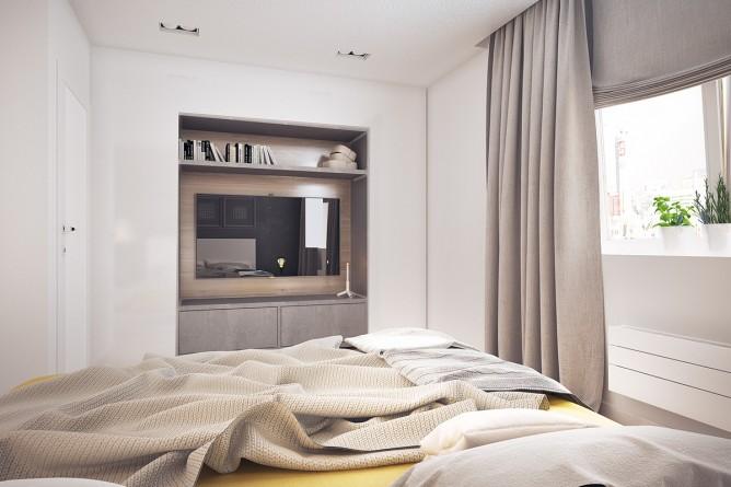 Wedo thiết kế nội thất phòng ngủ đơn giản, tươi sáng và vui vẻ