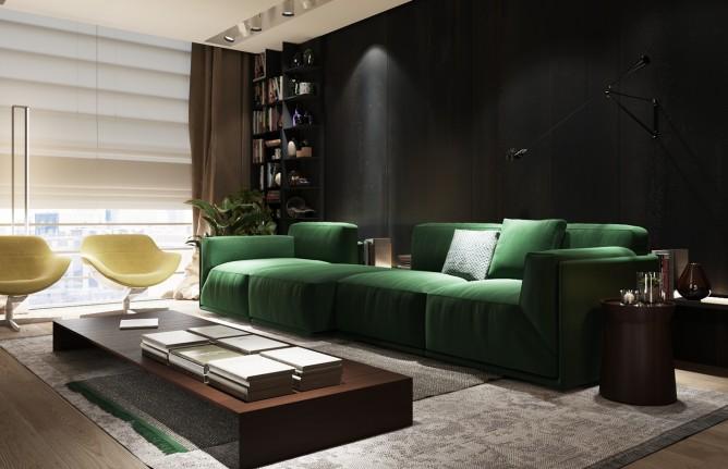 Wedo thiết kế nội thất phòng khách đơn giản và hiện đại cho nhà đẹp