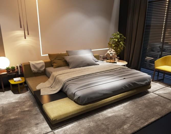 Wedo thiết kế nội thất phòng ngủ đơn giản và hiện đại cho nhà đẹp