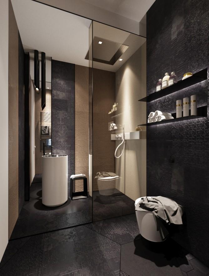 Wedo thiết kế nội thất phòng tắm đơn giản và hiện đại cho nhà đẹp