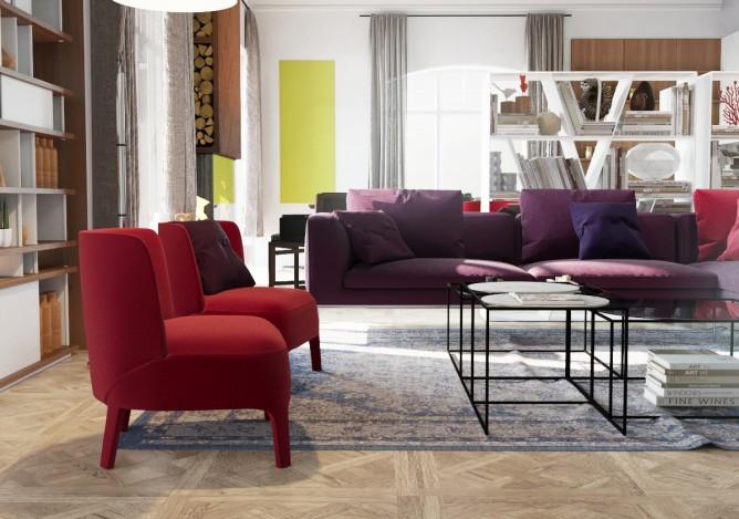 Wedo thiết kế nội thất phòng khách đơn giản, hiện đại cho nhà đẹp