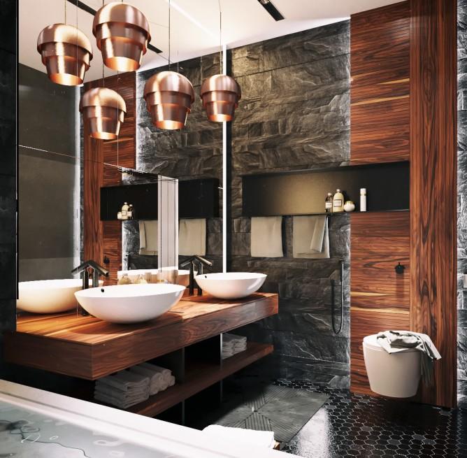 Wedo thiết kế nội thất phòng tắm đơn giản, hiện đại cho nhà đẹp