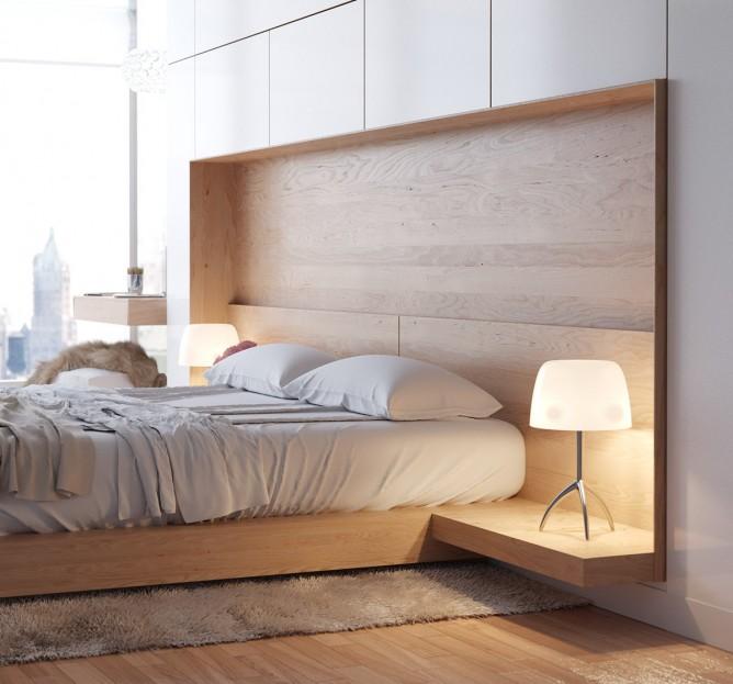Wedo thiết kế nội thất phòng ngủ đơn giản, hiện đại cho nhà đẹp