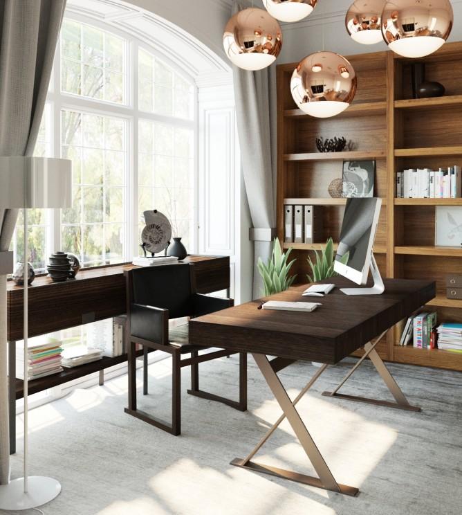 Wedo thiết kế nội thất phòng làm việc đơn giản và hiện đại