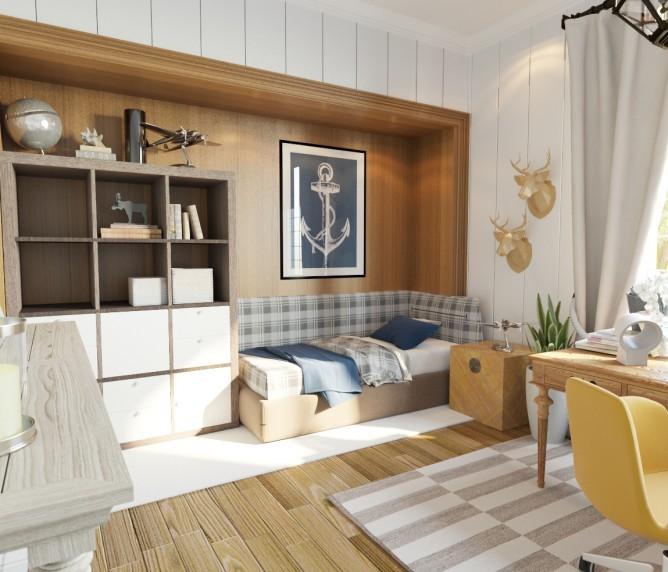 Wedo thiết kế nội thất phòng khách đơn giản, hiện đại