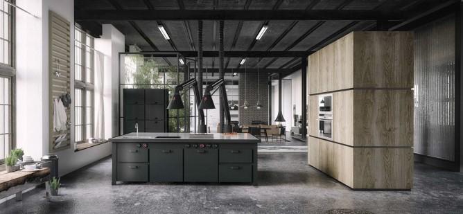 Wedo thiết kế nội thất nhà bếp đẹp với gam màu đen đẳng cấp