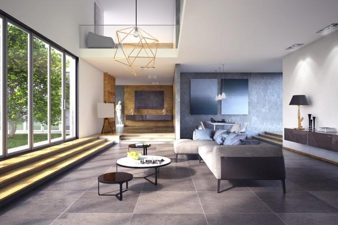 Wedo thiết kế nội thất phòng khách sang trọng, trẻ trung và đáng yêu