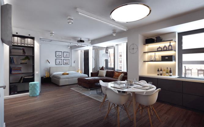 Wedo tư vấn xu hướng thiết kế nội thất phòng khách, phòng ăn đẹp, đơn giản và hiện đại nhất hiện nay