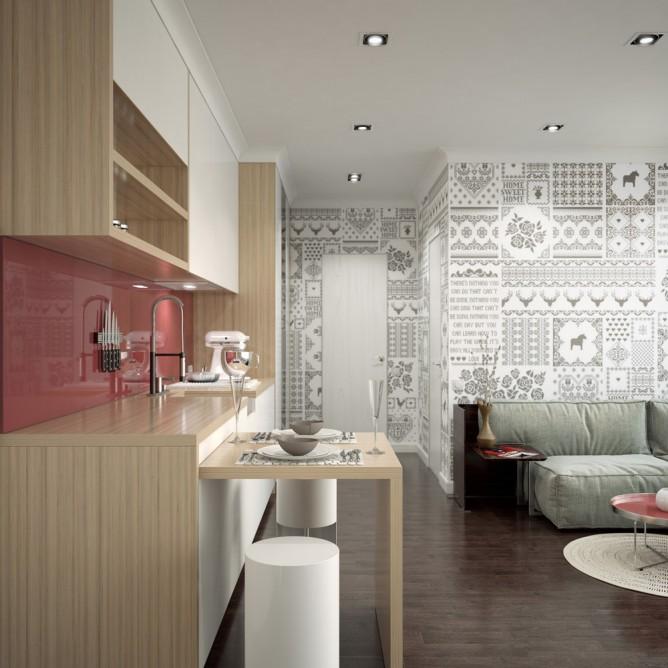 Wedo thiết kế nội thất phòng tắm đơn giản, tươi sáng và vui vẻ