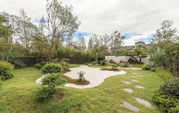 thiết kế tiểu cảnh sân vườn kiểu Nhật Bản cho biệt thự