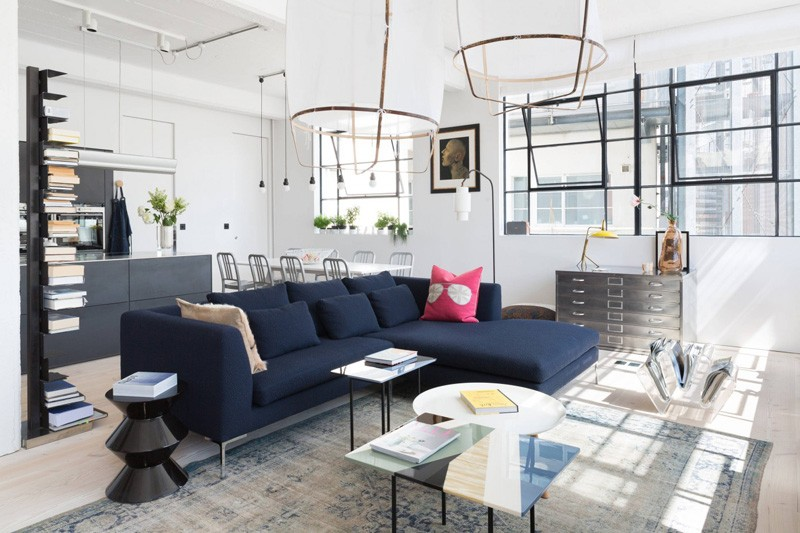 Thiết kế nội thất đẹp từ không gian công nghiệp