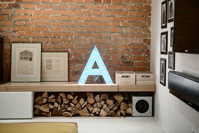 Wedo thiết kế nội thất với gạch trần đơn giản, hiện đại cho gia đình trẻ