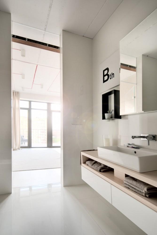 Wedo thiết kế nội thất với gạch trần đơn giản, hiện đại cho nhà bếp đẹp