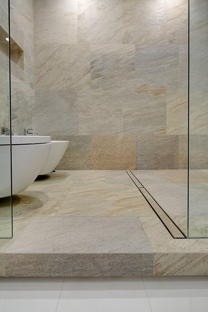 Wedo thiết kế nội thất với đá tự nhiên hiện đại, sang trọng cho phòng tắm đẹp