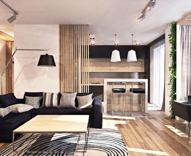 Wedo thiết kế nội thất không gian mở cho phòng khách đẹp
