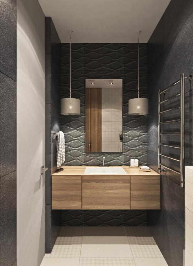 Wedo thiết kế nội thất không gian mở cho phòng tắm nhà đẹp