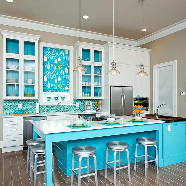 Wedo tư vấn ý tưởng thiết kế nhà bếp, phòng ăn trẻ trung, tươi sáng