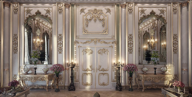 Thiết kế nội thất sang trọng theo phong cách cổ điển thời đại Louis của Pháp