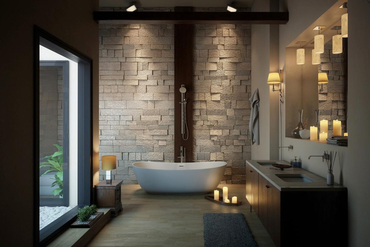 Tư vấn lựa chọn bồn tắm hiện đại, sang trọng cho nhà biệt thự