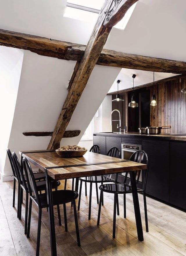 Thiết kế nội thất phòng ăn độc đáo phong cách Pháp cho nhà nhỏ