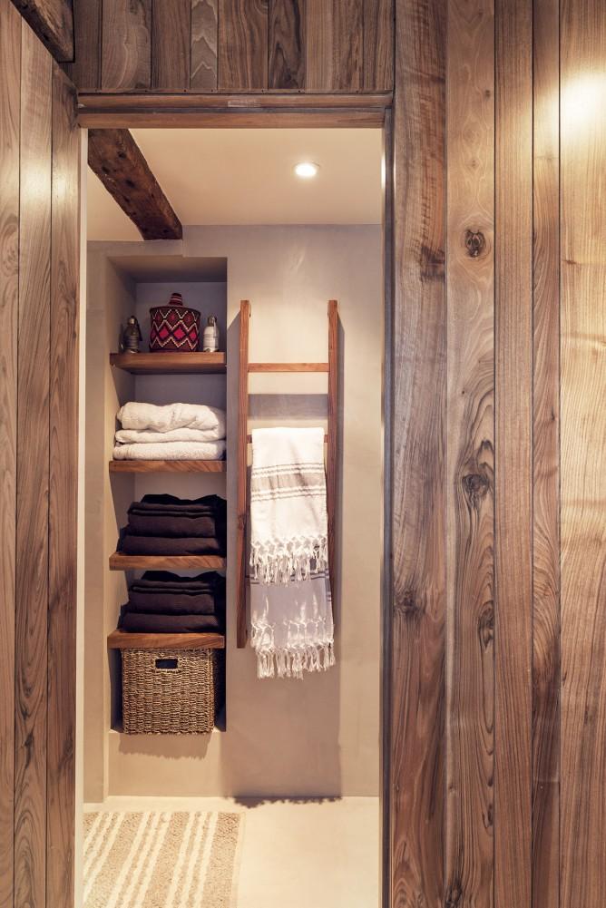 Thiết kế nội thất phòng tắm độc đáo phong cách Pháp cho nhà nhỏ