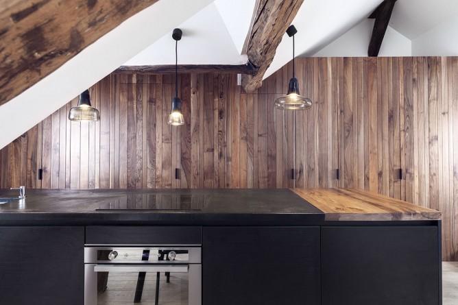 Thiết kế nội thất phòng bếp độc đáo phong cách Pháp cho nhà nhỏ