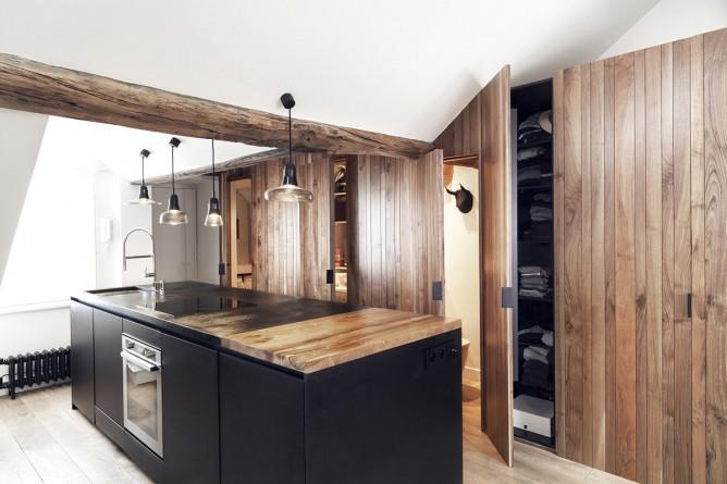 Thiết kế nội thất độc đáo phong cách Pháp cho nhà bếp