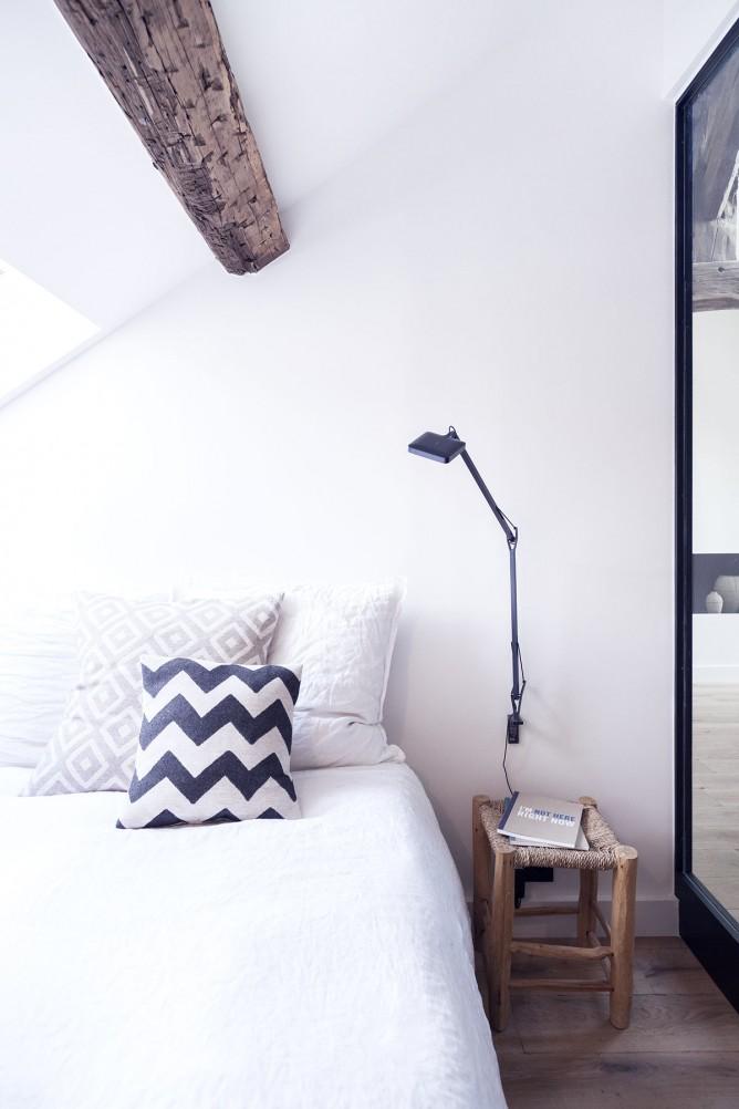 Thiết kế nội thất phòng ngủ độc đáo phong cách Pháp cho nhà nhỏ