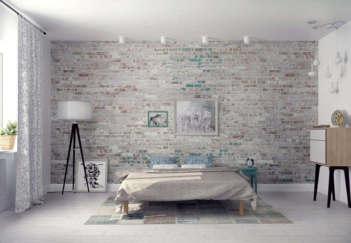 Trang trí mảng tường cho phòng ngủ độc đáo và hấp dẫn