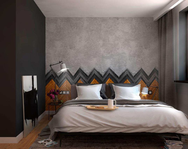 Thiết kế, trang trí mảng tường phòng ngủ độc đáo, hấp dẫn, sang trọng