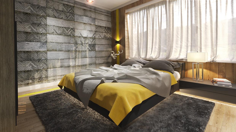 Thiết kế, trang trí mảng tường phòng ngủ độc đáo, sang trọng, hấp dẫn