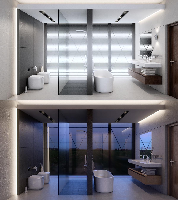 Thiết kế, lựa chọn bồn tắm hiện đại, sang trọng cho nhà đẹp
