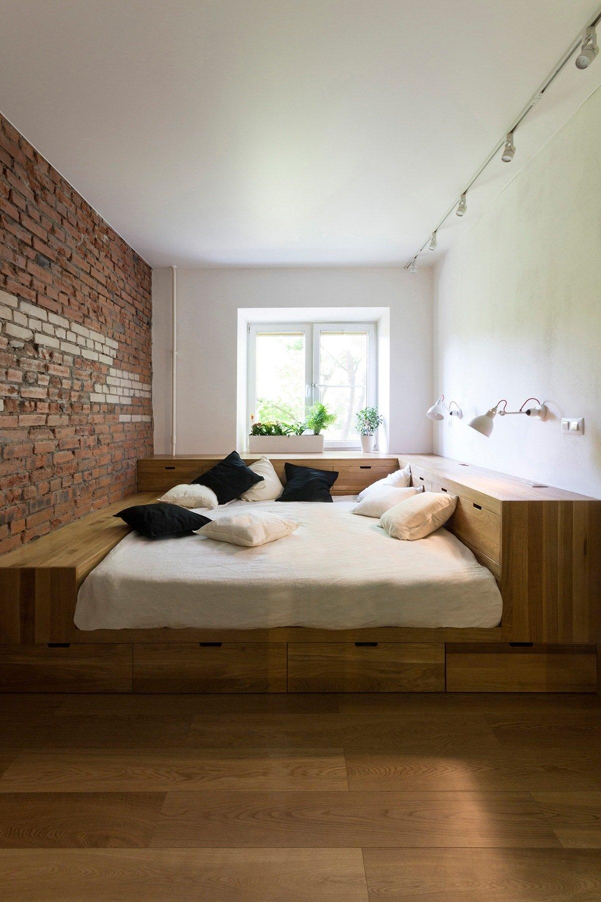 thiết kế nội thất độc đáo, thông minh và đa năng cho phòng ngủ nhỏ