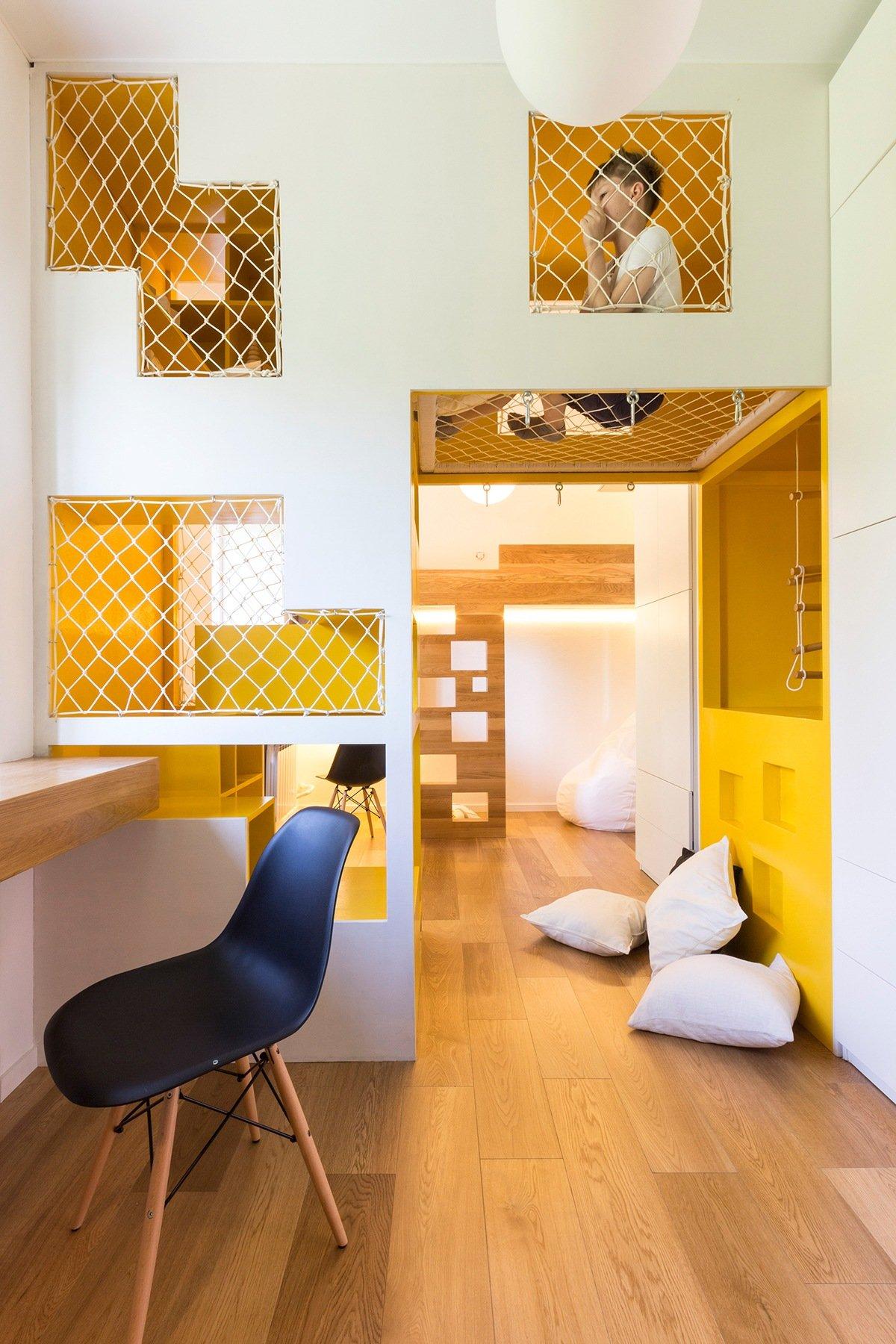 thiết kế nội thất độc đáo, thông minh và đa năng cho phòng ngủ nhà nhỏ