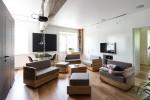 thiết kế nội thất độc đáo, thông minh và đa năng cho phòng khách nhà nhỏ