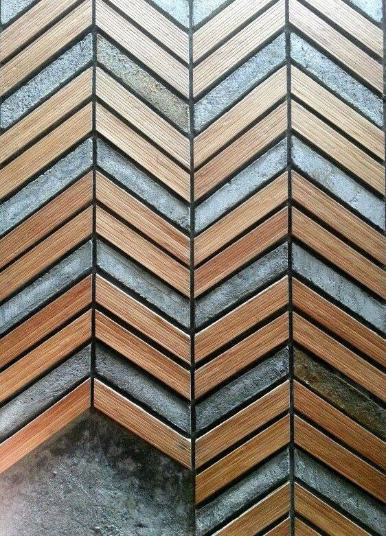 ý tưởng thiết kế nhà hiện đại với tường gỗ độc đáo