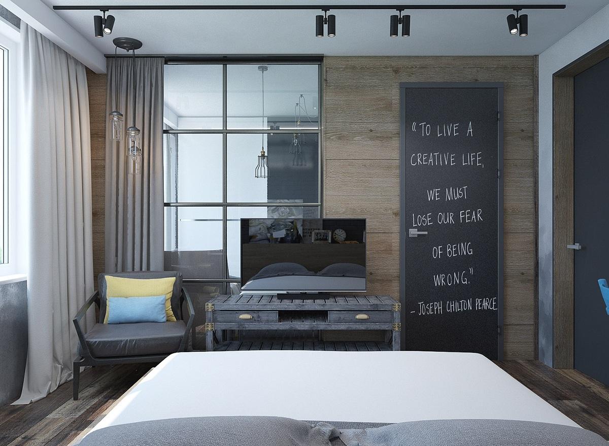 thiết kế nội thất phòng ngủ hiện đại, sang trọng cho nhà đẹp